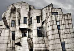 Frank Gehry designed Weisman Art Museum at the University of Minnesota