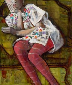 """Art - Portrait by Sophie Gralton """"Reclining Muse"""" Limited Edition Giclee Print at Tusk Gallery National Art School, Artist Biography, List Of Artists, Australian Artists, Limited Edition Prints, Paper Size, Textile Design, Giclee Print, Original Artwork"""