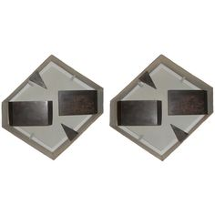 Pair of Gio Ponti Wall Sconces | From a unique collection of antique and modern wall lights and sconces at http://www.1stdibs.com/furniture/lighting/sconces-wall-lights/