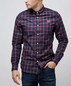 Fred Perry Winter Check Shirt