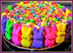 Sweet Tea and Cornbread: Happy Easter Peeps Cake!!!