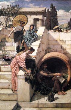 Diogenes - John William Waterhouse
