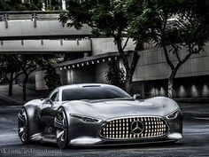 Концепт-кар дня: Mercedes-Benz AMG Vision Gran Turismo / Только машины