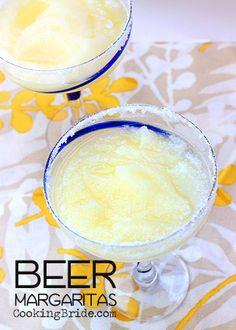 Beer Margaritas - CookingBride.com #Cinco de Mayo