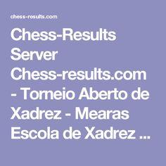 Chess-Results Server Chess-results.com - Torneio Aberto de Xadrez - Mearas Escola de Xadrez - 2016