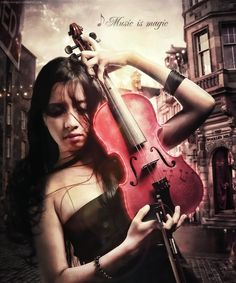 Music is magic by *Ntieyko on deviantART Cage