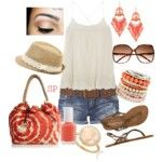 Vegas Outfit #1 - Polyvore Kill the fedora tho