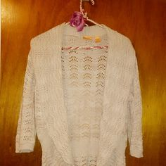 Sweater Shrug Light tan sweater, cute, clean, casual wear North Crest  Sweaters Shrugs & Ponchos