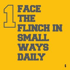 The Flinch in 60 seconds. Want the version? Get a free Readitfor.me account. Thing 1 Thing 2, Accounting, This Book, Free