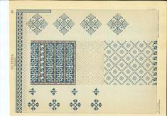 179 drawing boards of traditional romanian sweing motifs. Blackwork Embroidery, Folk Embroidery, Embroidery Patterns, Stitch Patterns, Presentation Slides, Drawing Board, Pattern Books, Folk Art, Cross Stitch