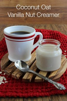 Coconut Oat Vanilla Nut Creamer is flavorful, easy, unique, fast and tasty!