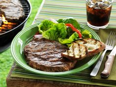 Smokey Steaks with Sweet Onion Marinade Makes: 4 servings  Prep time: 10-15 minutes Cook time:  10 minutes YOU'LL NEED 3-4 Walmart Choice ri...