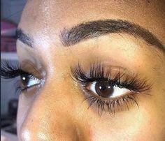 Makeup Is Life, Makeup Goals, Makeup Inspo, Eyelash Extensions Styles, Individual Lashes, Fake Eyelashes, Gorgeous Makeup, Skin Makeup, Nails