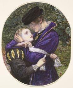 'The Huguenot', by John Everett Millais. 1860.