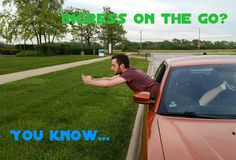 For everyone who has hung out a window to try and catch that portal right on the edge without actually having to get out of the car... #Ingress #Memes