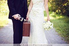 Travel themed wedding inspiration