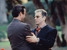 The higher I go, the crookeder it becomes…(Michael Corleone)……The Godfather III