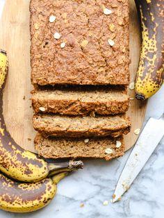 Fluffy Vegan Banana Bread Gluten Free
