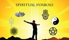 #symbols #spirituality #spiritual   Spiritual Symbols are objects, visual representation that suggest ideas, beliefs and cultures. Each one of these symbols was created for a concept in mind
