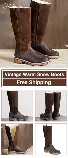 6287d531cd55  65.88 USD Sale! Free Shipping! Shop Now! Women Zipper Mid-Calf Fur Warm Snow  Boots