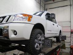 "Nissan Titan 2WD & 4WD - 2"" Truxxx Front & Rear Lift Kit"