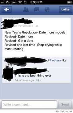 Funny comments about new year resolution 2015 funny picture