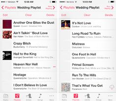 Asked to make a playlist for my wedding reception. FINE. Here. How's this?