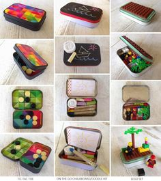 Diy Discover Diy lego attention span kids travel kits diy travel toys travel w Diy For Kids Crafts For Kids Creative Activities For Kids Diy Lego Altoids Tins Mint Tins Altered Tins Operation Christmas Child Busy Bags Creative Activities, Activities For Kids, Diy For Kids, Crafts For Kids, Mint Tins, Altered Tins, Altoids Tins, Operation Christmas Child, Busy Bags