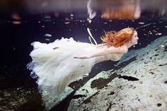 Savvy Deets Bridal: {Trash The Dress} Underwater Beauty, Playa del Carmen, Mexico