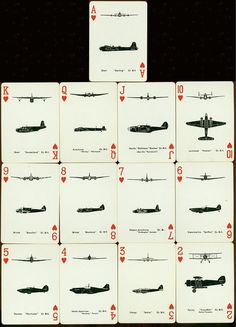 RAF - Corazones : playing cards