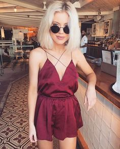 WEBSTA @ laurajadestone - Burgundy vibes @showpo