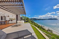 The design made maximum use of the amazing sea views. Photo / supplied