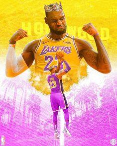 Lebron James Poster, Lebron James Lakers, Black Panther Art, Black Art, Lakers Wallpaper, Basketball Players, Basketball Stuff, Magic Johnson, Larry Bird