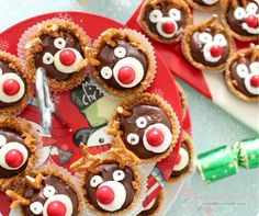 Rudolph the Red Nosed Reindeer Tarts from Vxdollface