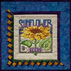 Sunflower Cross Stitch