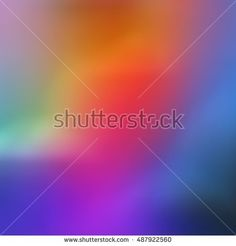 Gaussian Spectrum in Bright Blended Colors - buy this illustration on Shutterstock & find other images.