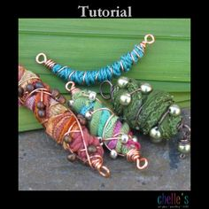 Tutorial - Colorful Cocoon Bead Component