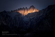 Sierra Spotlight (Michael Shainblum / San Francisco / USA) #Canon EOS 6D #landscape #photo #nature
