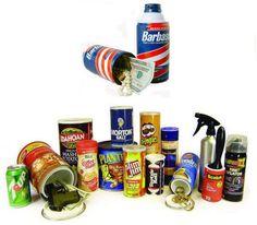 Diversion Can Safes- Lookalike Safe- Ajax Cleaner (Large) Barbasol Shaving Cream, False Bottom, Diversion Safe, Can Safe, Morton Salt, Garage Design, Look Alike, Canning, The Originals
