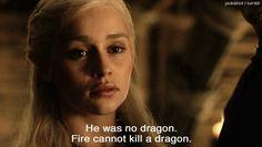 One of my favorite Khaleesi moments!