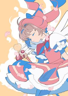 (18) Tweets com mídias de Edoya inu8 (@neko_cer) / Twitter Cardcaptor Sakura, Kero Sakura, Sakura Card Captor, Animes Wallpapers, Cute Wallpapers, Neko, Girls Anime, Clear Card, Magical Girl