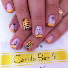 Instagram media by camila.benelli - Cátia  Modelo @jehhhrech #nails #nailart #naildesigns