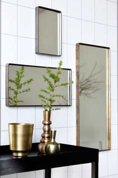 It is nice to have more then one mirror in your bathroom.