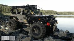 This tiny remote controlled Jeep Wrangler takes on the wilderness in an awesome competition