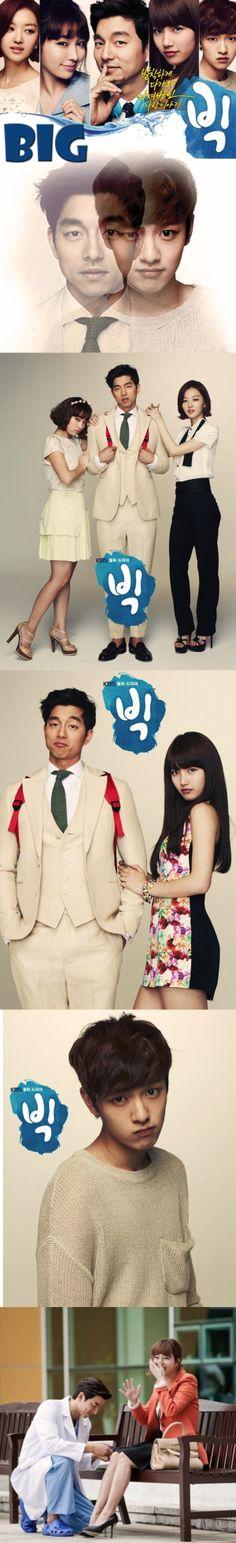 Big (Hangul: 빅) - Kdrama 2012 - 16 episodes - Gong Yoo / Lee Min-jung  / Suzy / Shin Won-ho / Baek Sung-hyun /