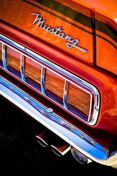 Ford Mustang    #car #old #awesome #mustangvintagecars