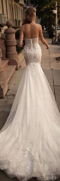 Wedding Dress by Berta Bridal Fall 2017                                                                                                                                                                                 More
