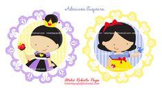 Adesivos para Suqueira G- Kit Branca de Neve Manuela by Ateliê Roberta Pupo, via Flickr
