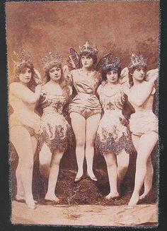 possibly ballet dancers
