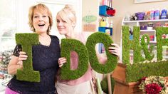 How to make Moss Monogram Letters! #diy #moss #wedding